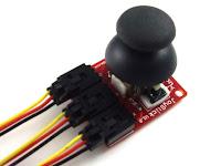 Joystick - detalhe conectores