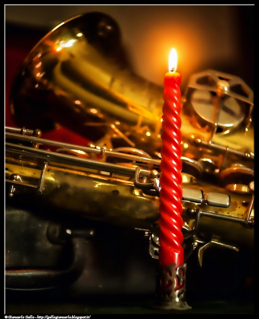 Sax e candela
