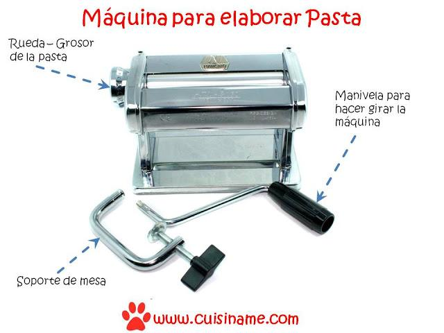 Recetas de cocina cuis name - Maquina para hacer pastas caseras ...