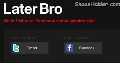 HOW TO : Schedule Facebook Status Updates