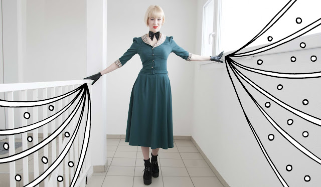 Collectif, retro, vintage, dress, Atsuko Kudo