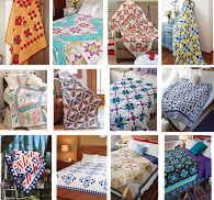12 quilt patterns - only $4.99 - free shipping (CLICK !)