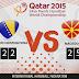 Handball WM - Makedonien nach Sieg über BiH im Achtelfinale