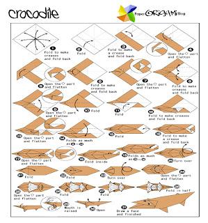 alligator origami