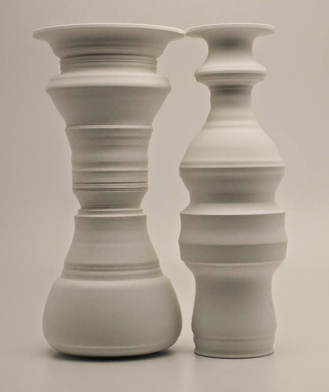 "Porcelain sculpture titled ""Parian"" (2007) by Gregory James Payce"