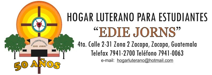 Hogar Luterano para estudiantes Edie Jorns