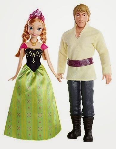 Disney Frozen Anna and Kristoff Doll