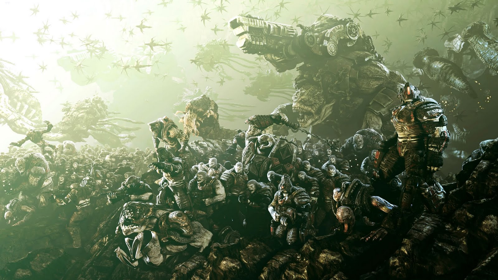 Gears of War HD & Widescreen Wallpaper 0.804914788381463