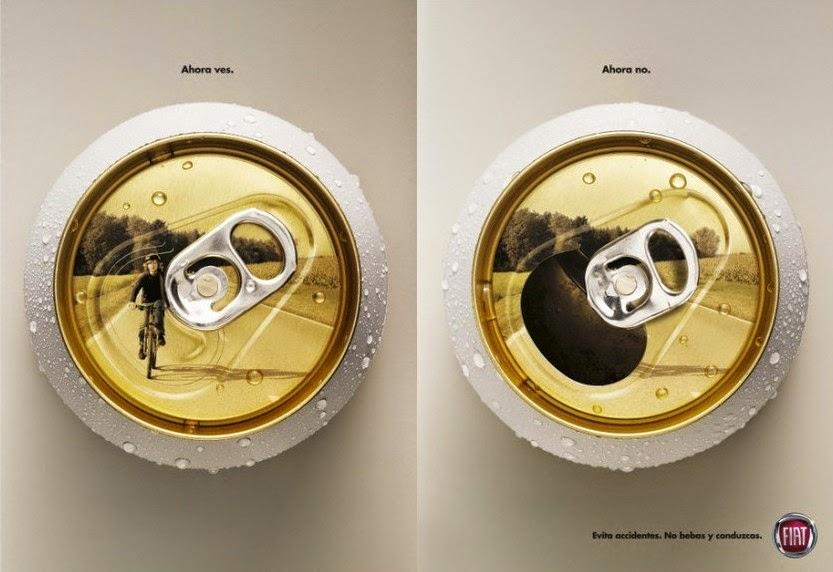 Campanha da FIAT contra uso de álcool ao volante agora você vê não
