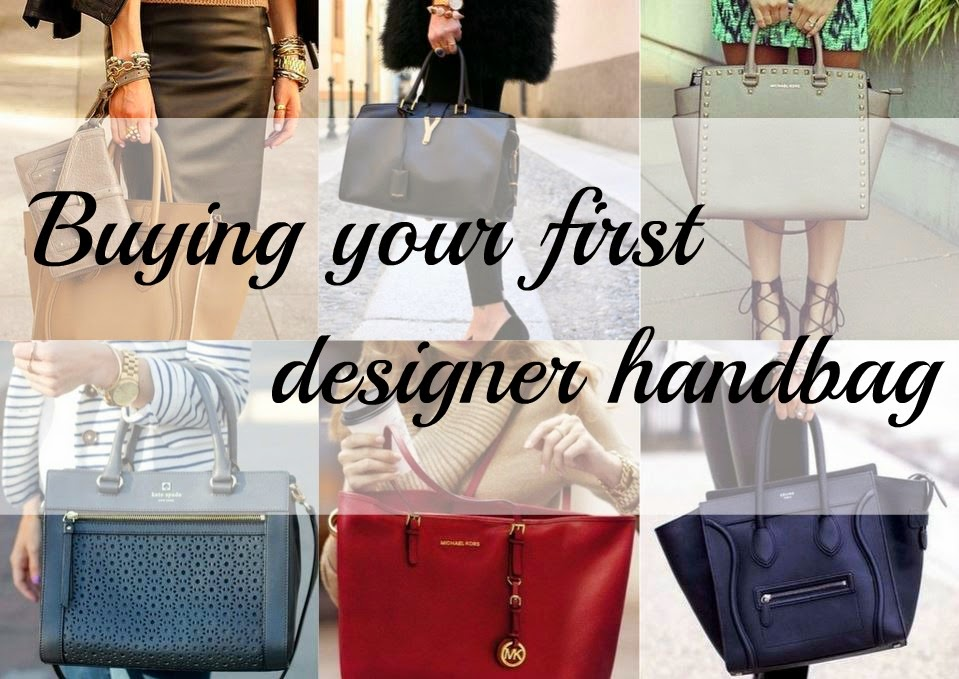 MYOFS: Buying your first designer handbag