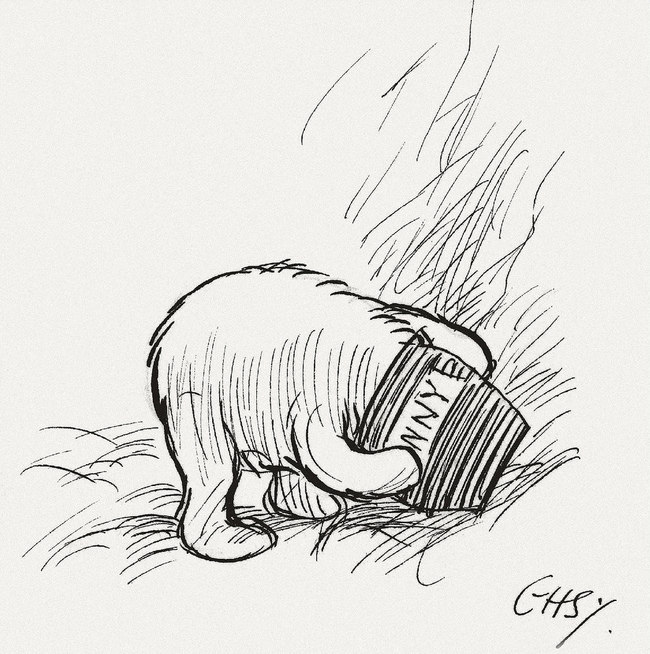 "15 Incredibly Wise Truths We Learned From Winnie The Pooh - ""A day without a friend is like a pot without a single drop of honey left inside."""