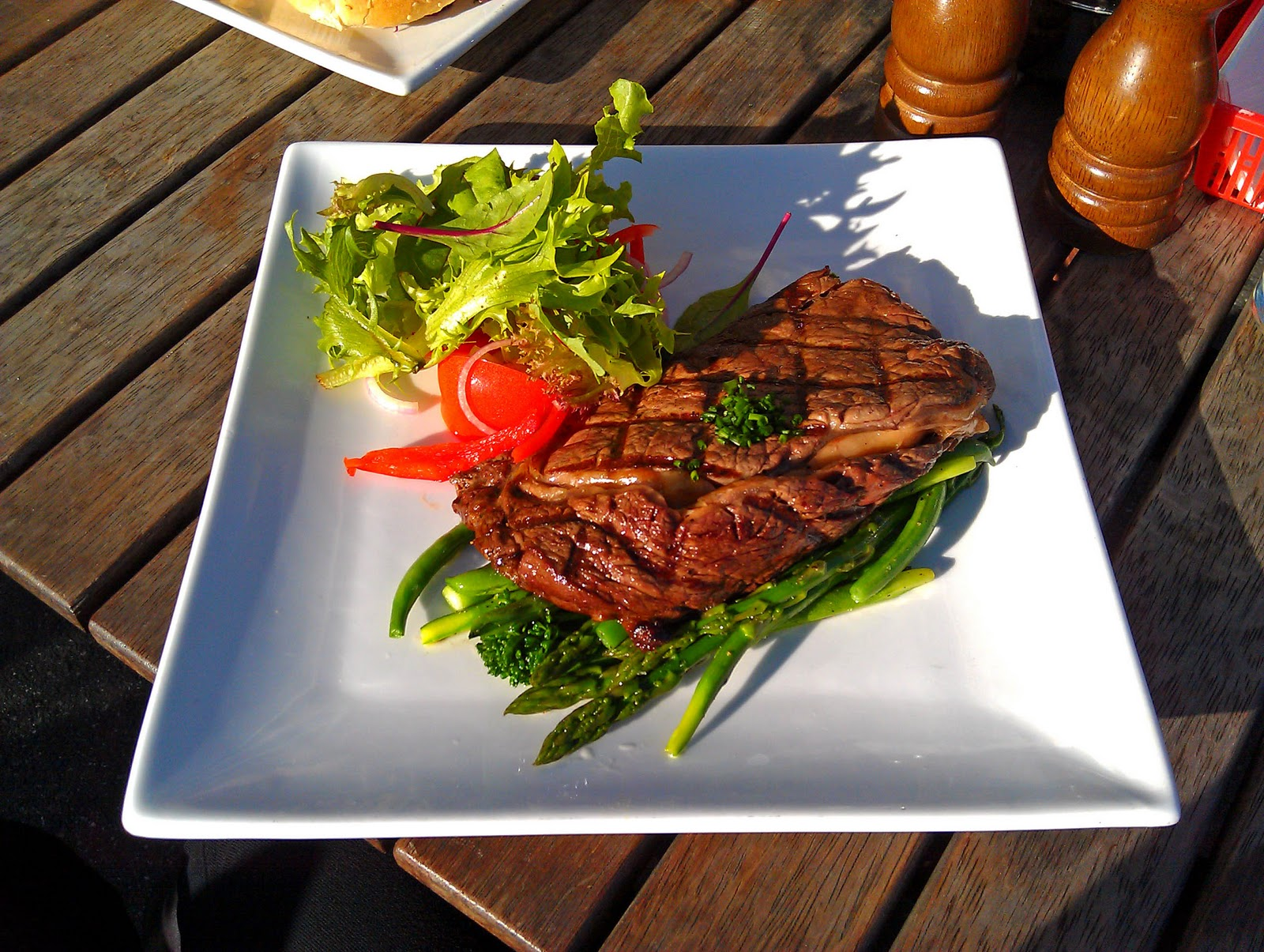Steaks On A Plate Squa...