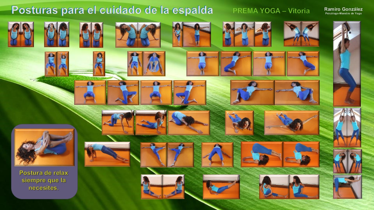 Ejercicios para el cuidado de la espalda. | GRUPO PREMA Vitoria-Gasteiz