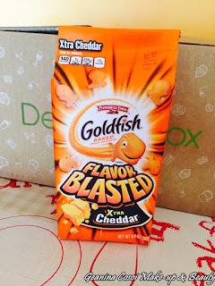 Goldfish Cheddar degustabox agosto 2015