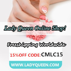 15 % off on Lady Queen Online Shop!