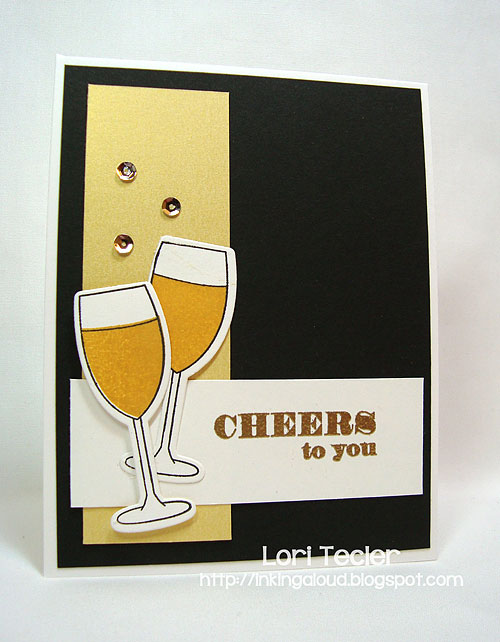Cheers to You-designed by Lori Tecler-Inking Aloud-stamps and dies from Clear and Simple Stamps