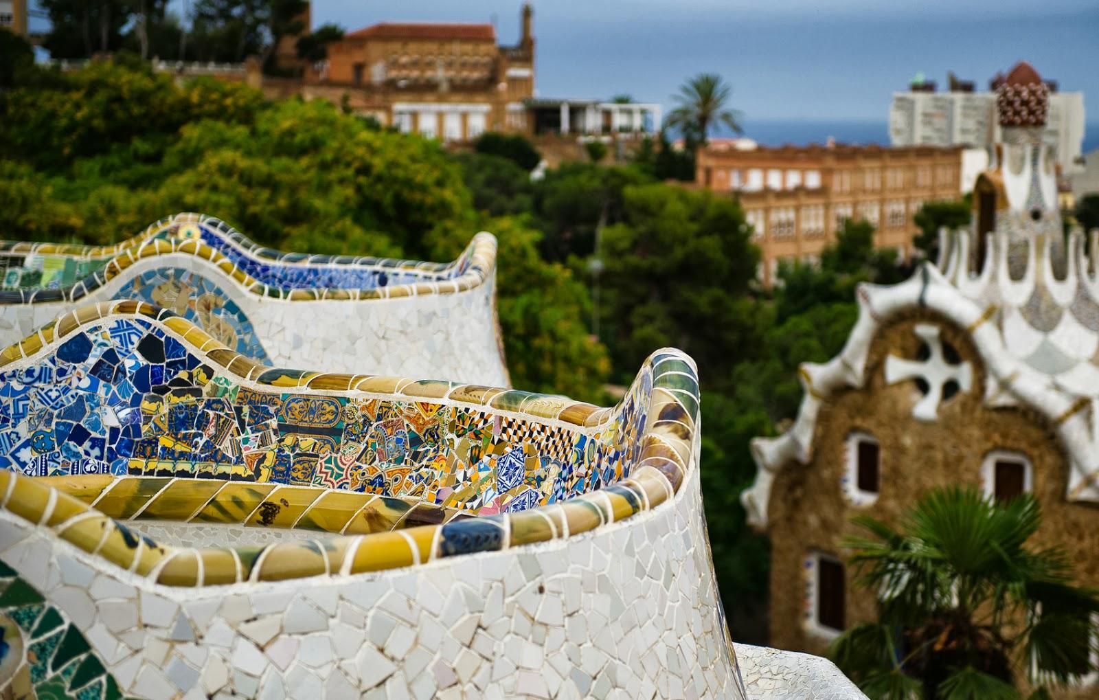 Barcelona Surroundings: Park Güell – Gaudí's playground