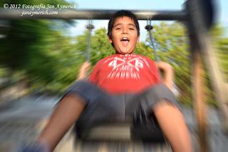 Sesión de fotos infantil: Edwin - Sesión en exterior