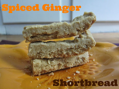 Spiced Ginger Shortbread | The Economical Eater