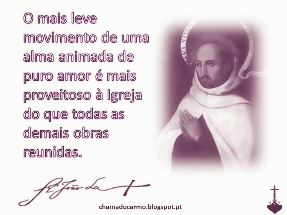 Chama Do Carmo Frase São João Da Cruz Ii