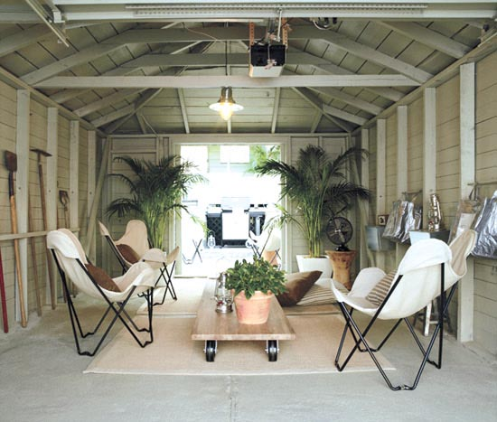 Patio and yards outdoor rooms for Garage family room