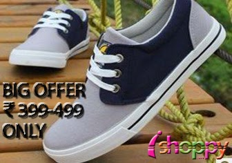 Ishoppy : Special offer, shoes at just Rs.399, Rs.499 with Free shipping : Buy To Earn