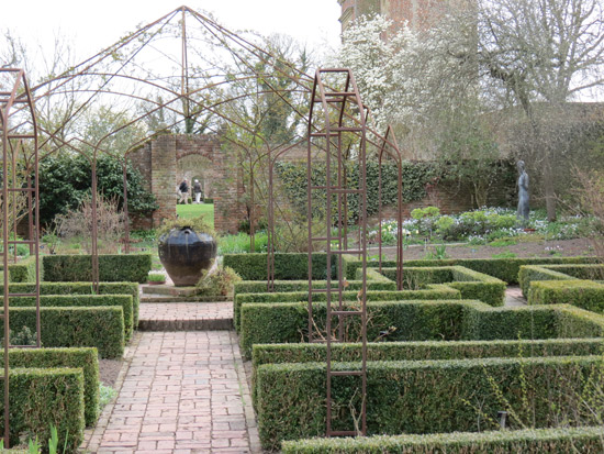The White Garden, Sissinghurst Castle Garden - April 2013