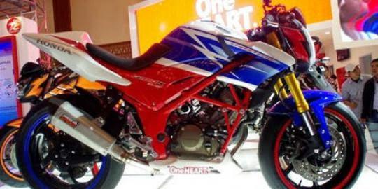 Gambar Foto Modifikasi Honda CBR150R StreetFire Modif Terbaru 2014