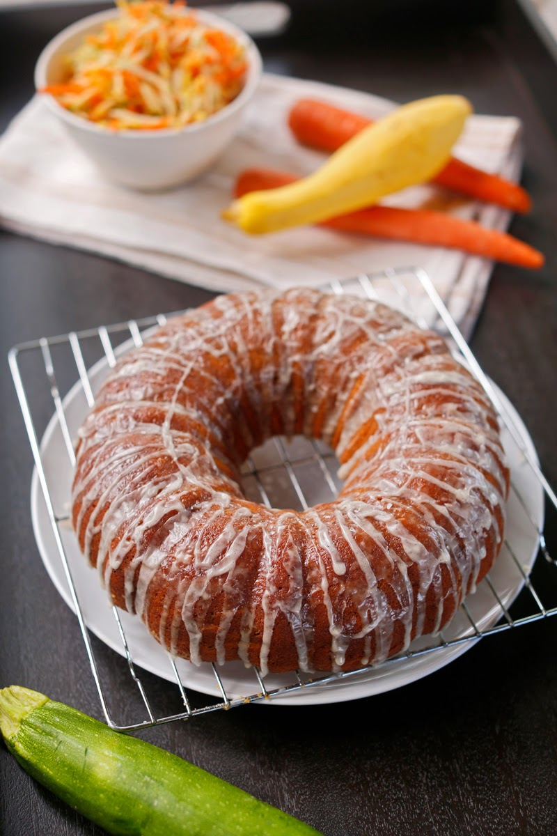 Alisa's Summer Vegetable Bundt Cake