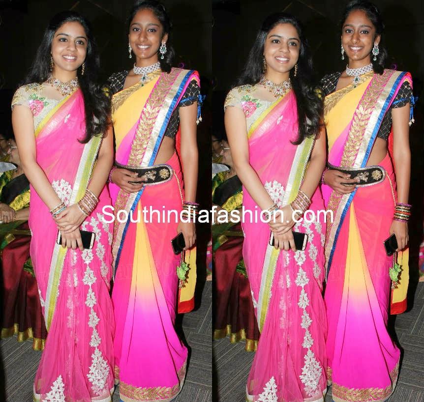 latest celebrity sarees