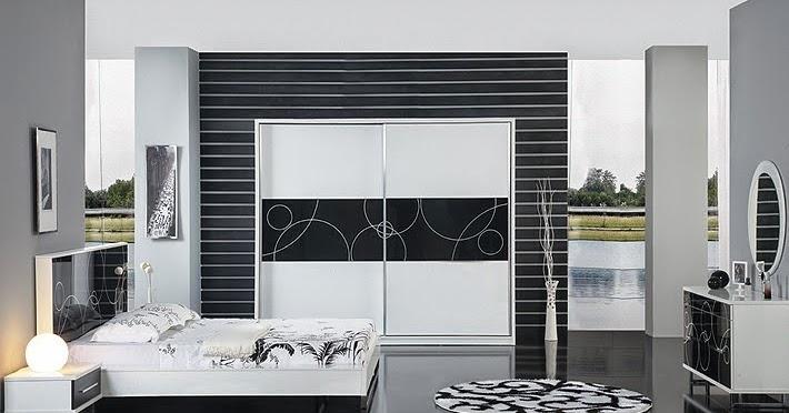 couleurs claires et sombre pour les chambre id es d co pour maison moderne. Black Bedroom Furniture Sets. Home Design Ideas