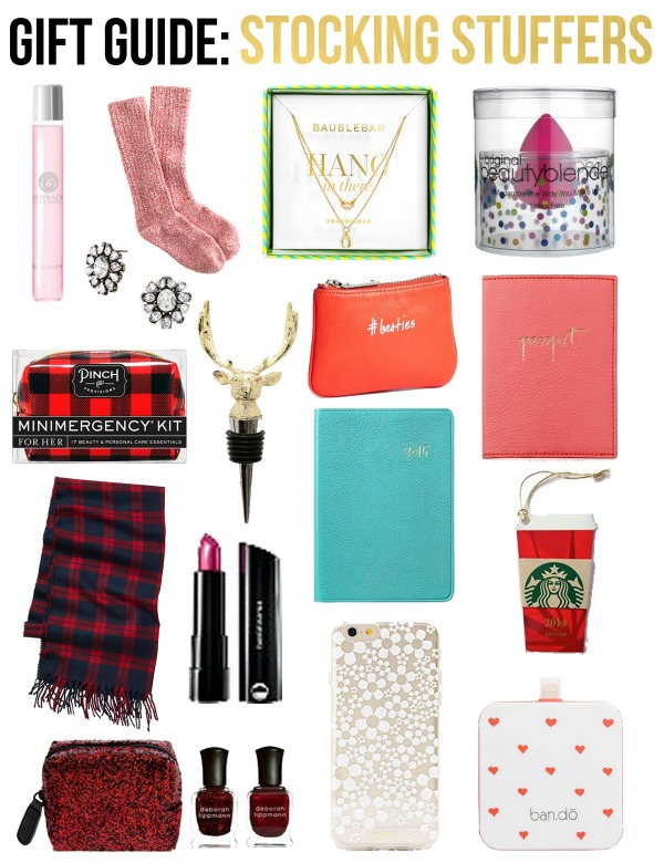 Life With Emily Gift Guide Stocking Stuffers For Her