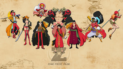 Straw Hats Pirate Film Z a648