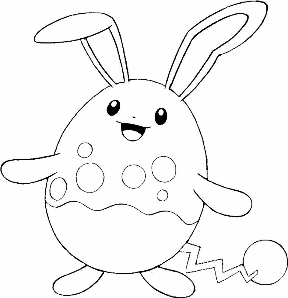Disegni Da Colorare Pokemon Bianco E Nero