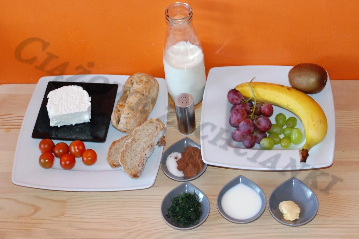 Składniki zdrowego śniadania