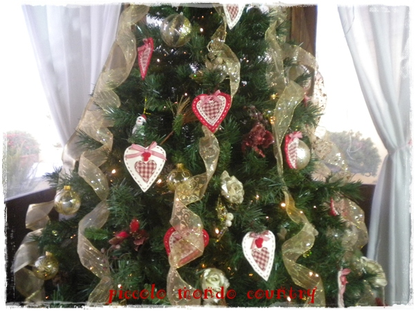 Piccolo mondo country decorazioni per natale - Natale country decorazioni ...