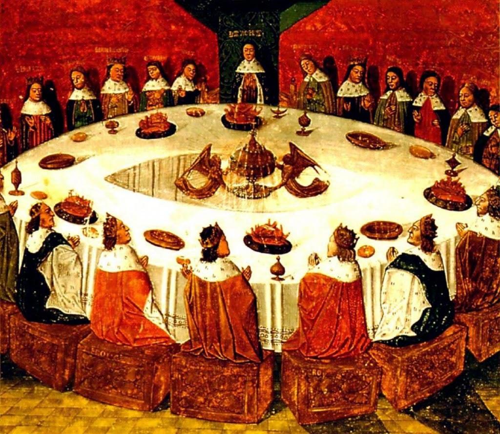 Versi in volo i cavalieri della tavola rotonda di re art e quelli della repubblica - La tavola rotonda di re artu ...