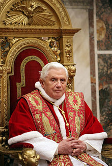 Papa Emérito Benedictus XVI