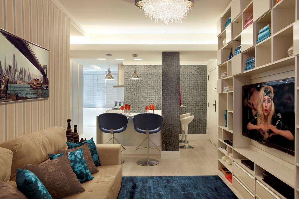 Sala De Estar Azul ~  de sala azul turquesaVamos conferir algumas Decorações com Azul