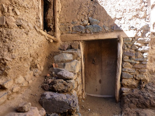 Berber house Atlas Mountains