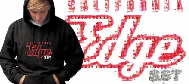 California Edge SST Hoodie Sweatshirt Black