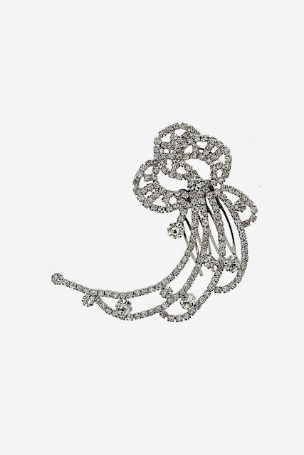 diamante hair accessory
