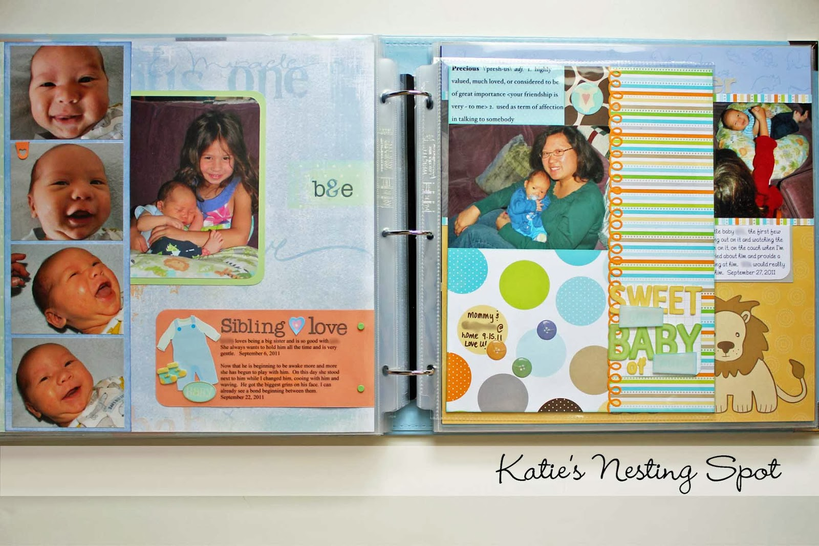 Easy scrapbook ideas layouts
