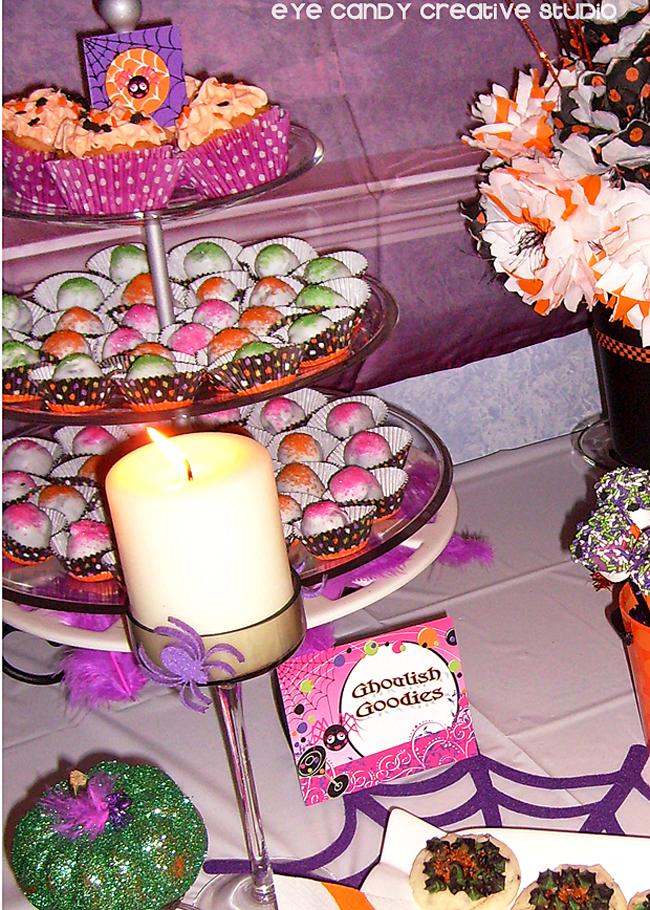 halloween Oreo balls, halloween cupcakes, halloween cupcakes
