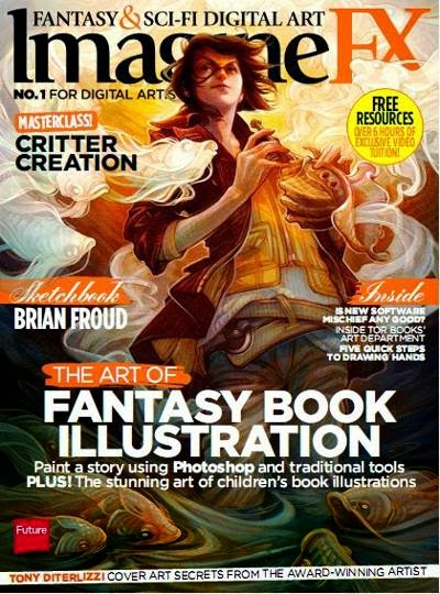 ImagineFX Magazine March 2014
