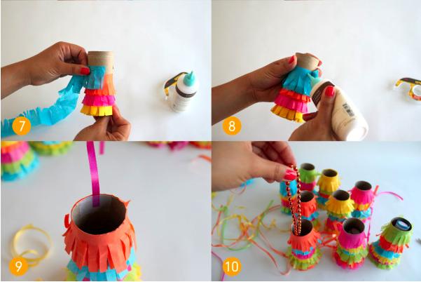 Baño Sencillo Para Tortas: de mis mesas: 3 maneras de hacer Mini piñatas para cumpleaños