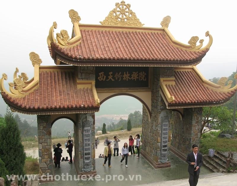 Cho thuê xe đi thiền viện Trúc Lâm Tây Thiên Vĩnh Phúc 1