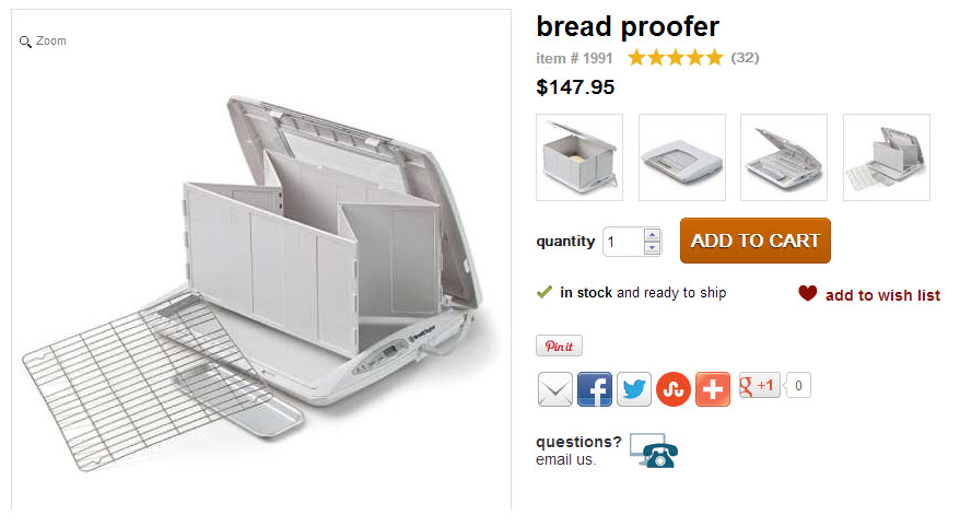 how to make a bread proofing box