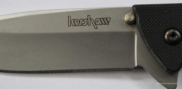 Kershaw Skyline Pocket Knife - Closeup Of Blade 4