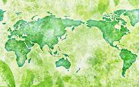 papel de parede mapa verde